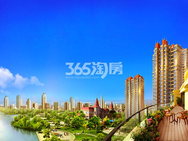 恒大翡翠华庭住宅首付可分期,8万起,仅剩10套精装准现房。