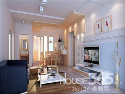 欣赏三室一厅装修设计图 提高家庭居住环境高清图片