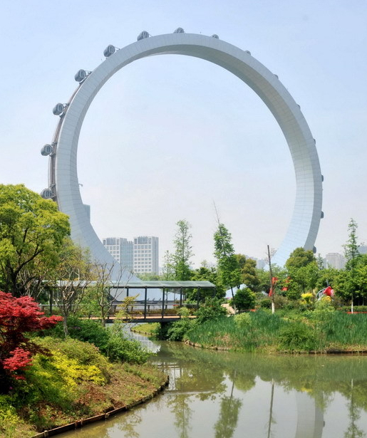 常州东经120主题公园景观塔