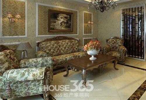古典欧式沙发 展现奢华风-365地产家居网