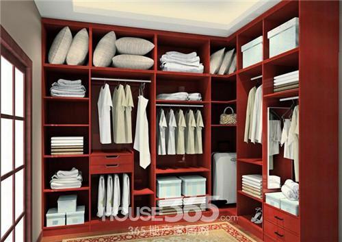 整体衣柜效果图 量身打造显美观高清图片