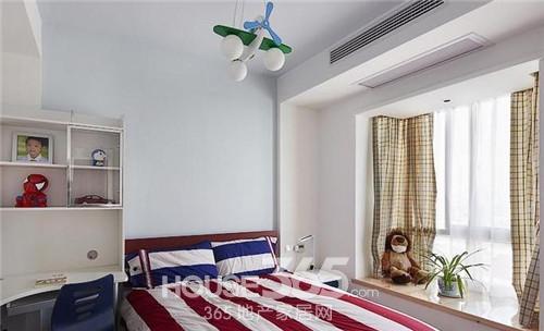 儿童卧室装修设计纸质设计图展示