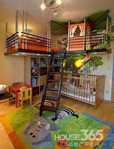8平米儿童卧室装修 打造童话般的世界