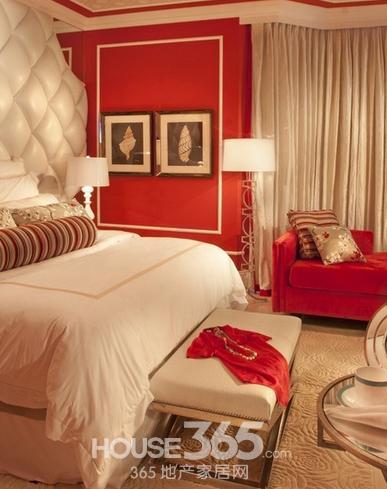 2014卧室装修效果图 欧式风格设计让你欲罢不能