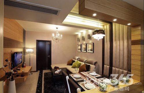 120平米装修效果图 初夏品质家居空间