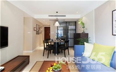 70平米房屋装修样板房 美丽新家居