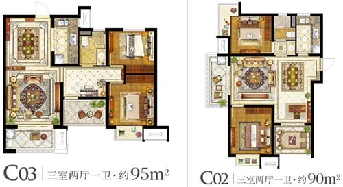 自建三房一厅设计图纸