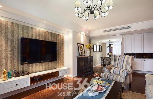 三室两厅装修案例 135平米简美设计浪漫情怀