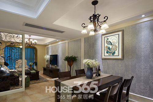 三室两厅装修效果图 美式风格晒复式美家图片