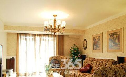 沙发与背景墙颜色搭配效果图