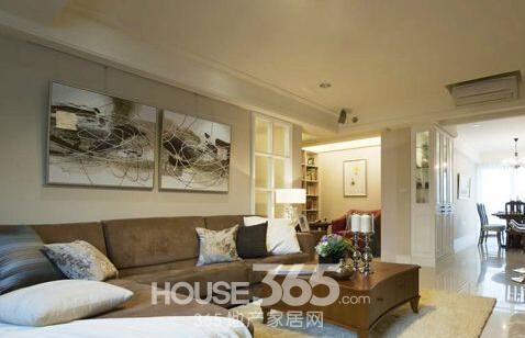 沙发与背景墙颜色搭配效果图-365地产家居网