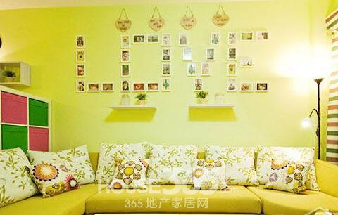 创意房间布局与房间设计合理运用知识(一百四十二)沙发与背景墙颜色