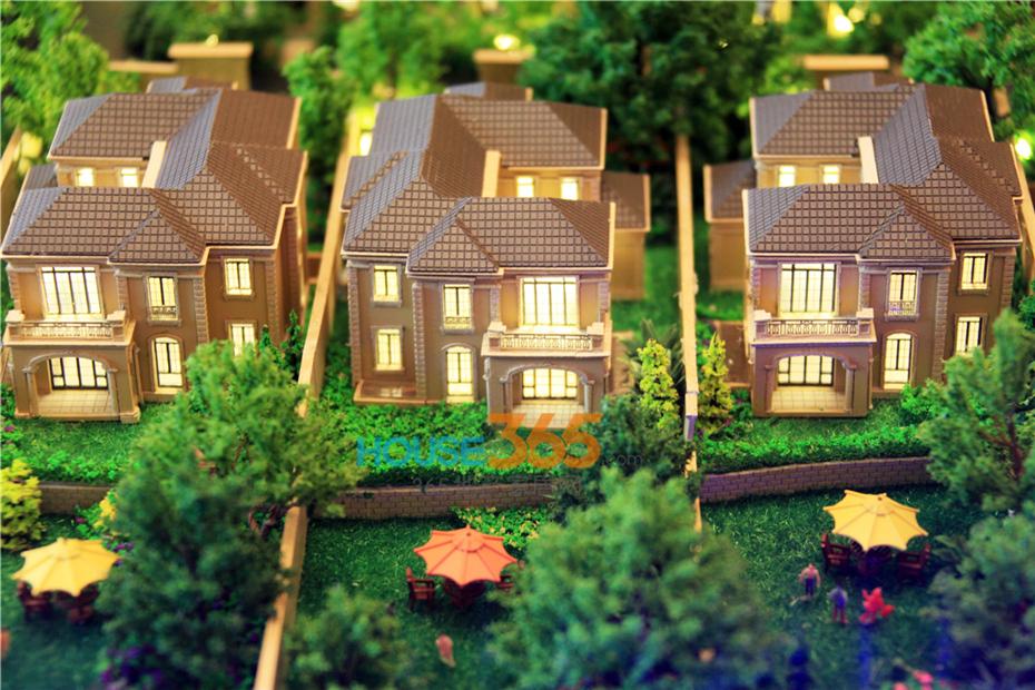 5亩,法式独栋别墅系出绿城近年顶级产品精萃之成,秉承古典主义美学中图片