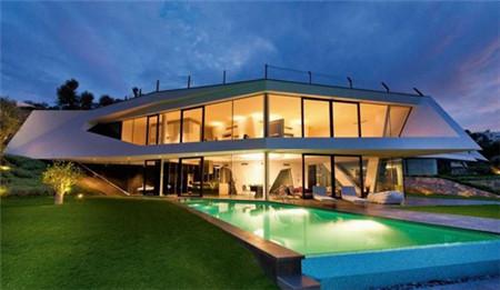 hebil 157别墅:地中海边的超现代豪宅