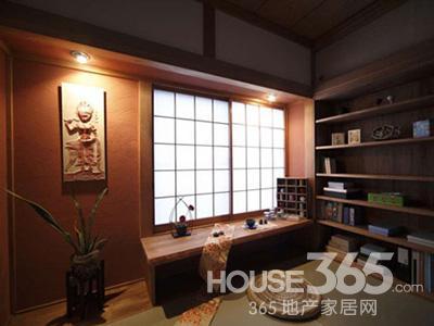 日式装修样板间,木造结构的旧式房子给人很亲切温和