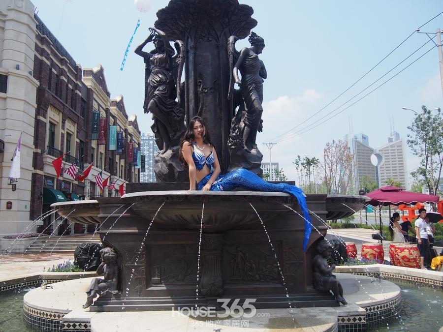 金地锦城:褐石美式风情商业街全景呈现 精彩图集图片