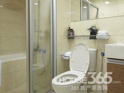 小面积的卫生间瓷砖的颜色也可以选择浅色系的墙砖