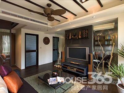 浮雕海岛型木地板上的木纹纹路,是住宅里视觉惊艳,更是主题风格的营造