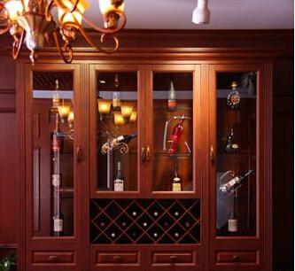 家庭酒柜装修效果图 品质生活享小资情调