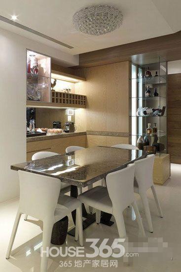 12款餐厅酒柜效果图 让家别具一格高清图片