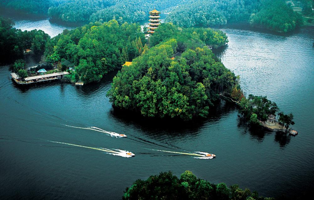 3,汉中南湖风景区