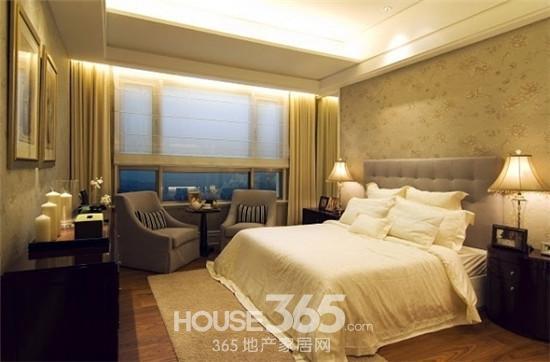 三室两厅装修样板房 典雅时尚的欧式风情
