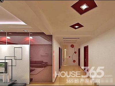 简单走廊吊顶效果图 顶空间打造法(5)