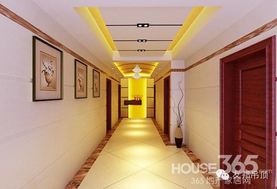 走廊吊顶装修效果图 打造时尚美家