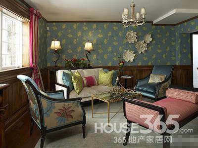 家庭装修壁纸 为家居增添缤纷色彩