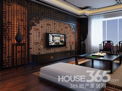 中式走廊装修效果图 古色古香的家