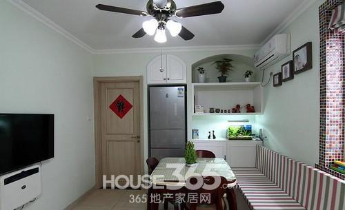 老房子装修效果图 54平米小户型改造小两居