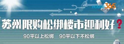 苏城限购松绑30天