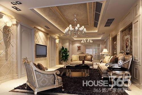 客厅吊顶的装修造型风格主要包括了欧式、中式、美式三种,他们因不