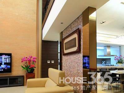 客厅与餐厅隔断装修 为家注入幸福气息