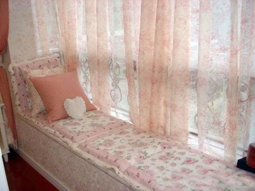 客厅飘窗窗帘图片 追寻光影的魅力