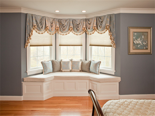 客厅飘窗装修效果图 简单实用案例