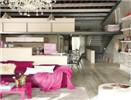 跃层家装设计案例 满足家的小梦想