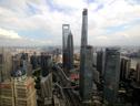 实拍上海第一高楼 632米高度挑战视觉刷新沪天际线