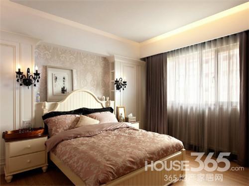欧式主卧床头背景墙 装扮最炫家居风图片