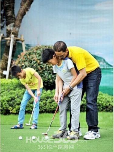 儿童高尔夫,培养下一个伍兹