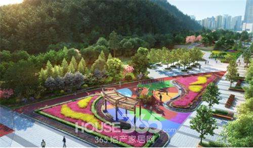 蚌埠新地城市广场 虎山公园