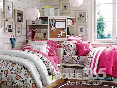 女生卧室装修效果 奇幻美梦随心造图片