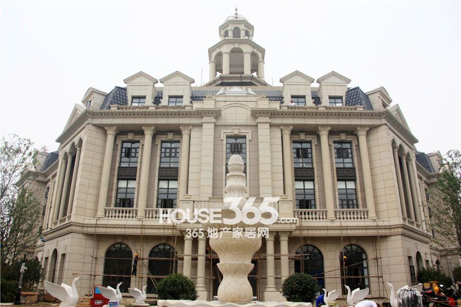 新华联梦想城法式建筑风格营销中心抢先看|图集