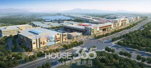 百万方航母巨制东壹元 一站式家居建材市场