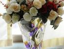 玻璃花瓶图片 给你五彩缤纷晶莹屋