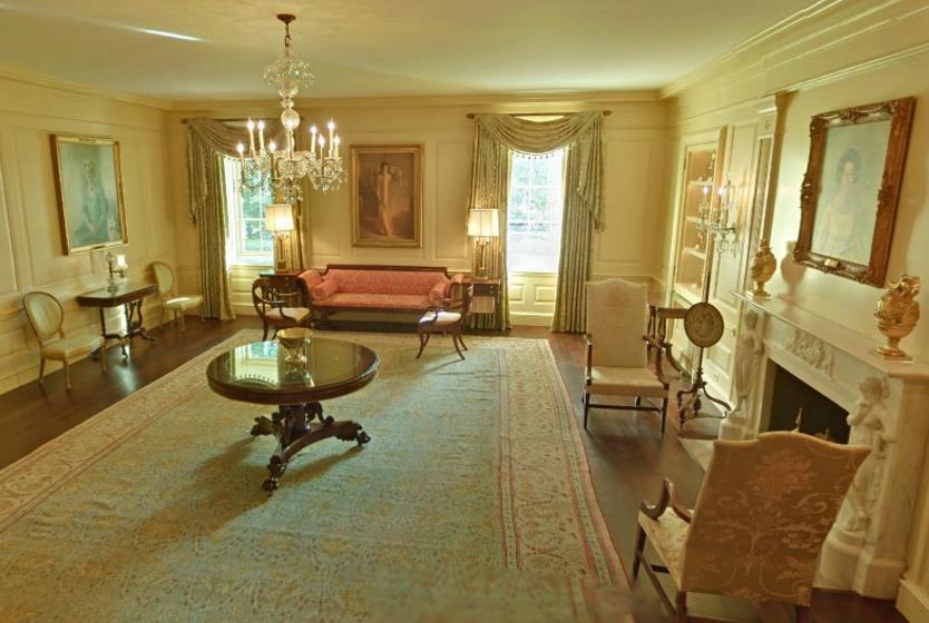探秘白宫内部景象