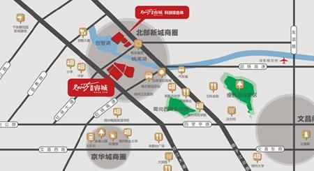 宝能睿城,占据北部旅游规划区,坐拥瘦西湖风景区与蜀冈西峰生态园两
