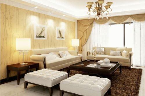 实木雕刻花+高贵描银,使得这款沙发完美的搭配于客厅