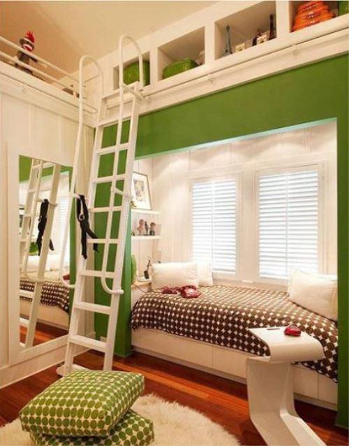 装修案例 儿童房飘窗设计 让孩子爱上他们的房间      儿童房
