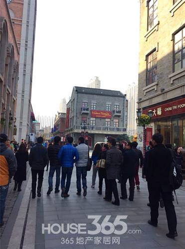 365商业地产菁英参观楚河汉街